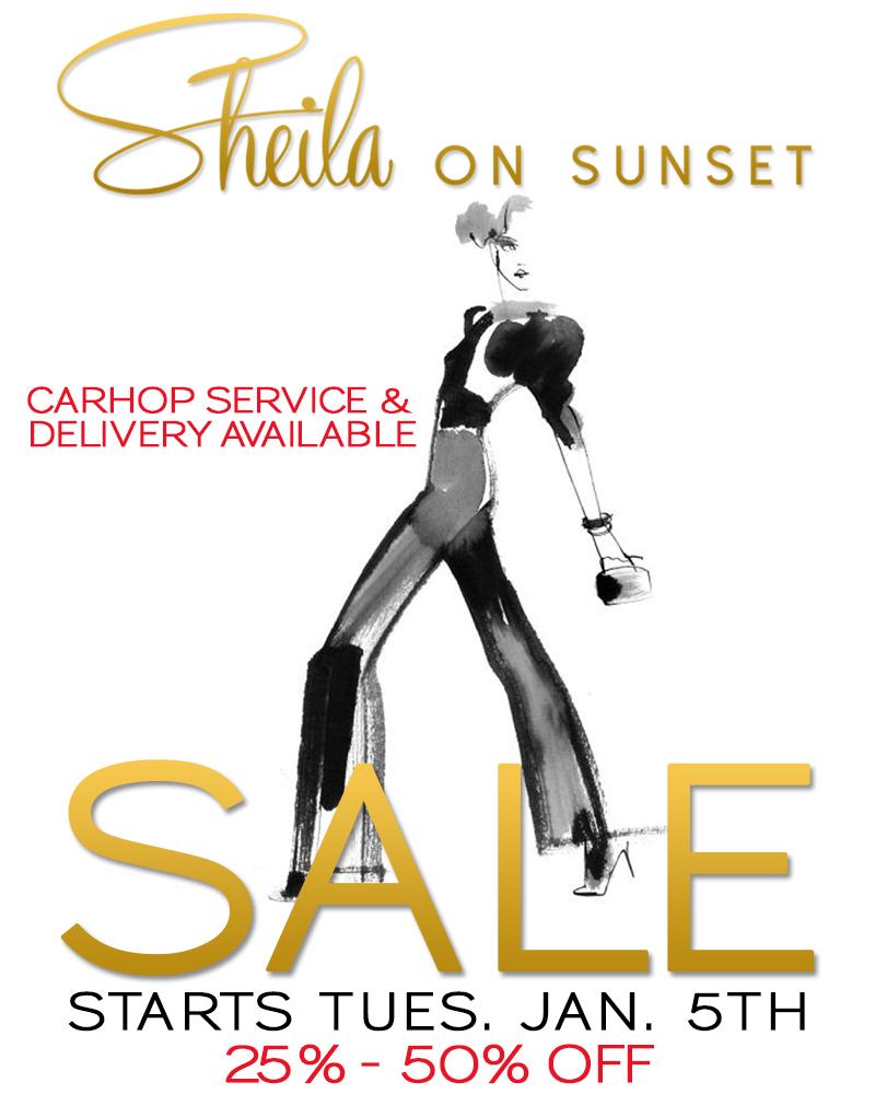 Sheila on Sunset (Sale 25%-50%)